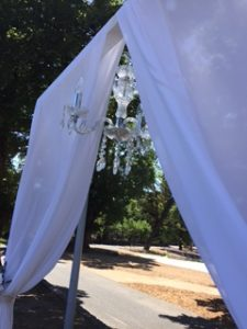 Blog-garden-wedding-ceremony-pa-hire-chandelier